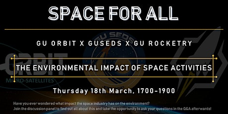 Space For All: The Environmental Impacts Of Space Activities tickets