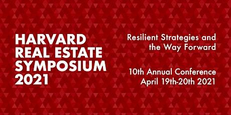 Harvard Real Estate Symposium 2021 boletos