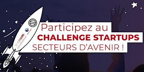 Découvrez le Challenge startups secteurs d'avenir billets