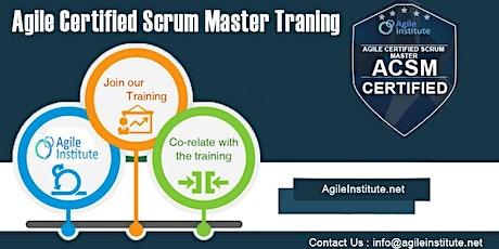 Scrum Master Certification Training tickets