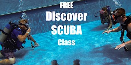 Discover SCUBA tickets