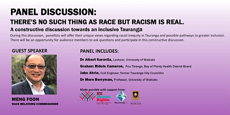 Panel Discussion: Racial Equity in Tauranga tickets