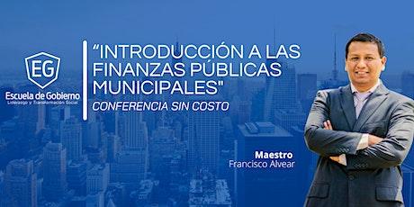 Introducción a las finanzas públicas municipales entradas
