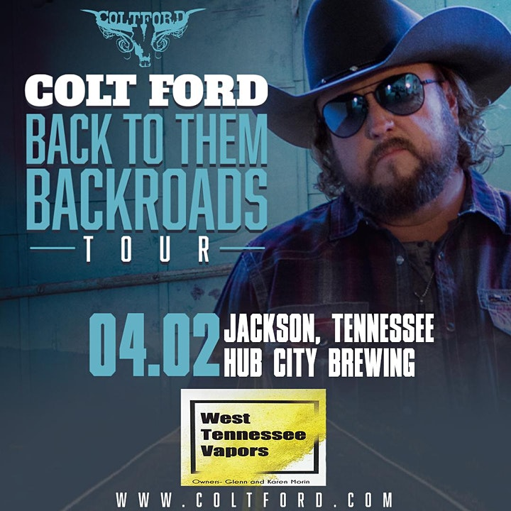 SOLD OUT - Thomas Media presents Colt Ford image
