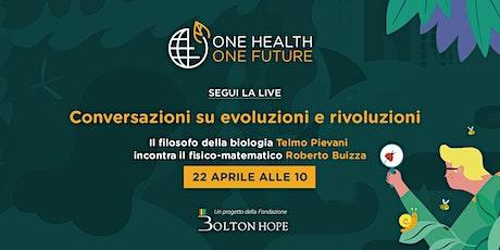 Conversazioni su evoluzioni e rivoluzioni con Roberto Buizza biglietti