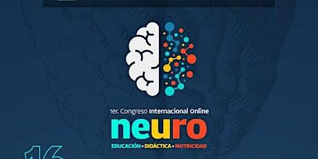 """I Congreso Internacional  Online en Neuro  """"Educación-Didáctica-Motricidad"""" entradas"""