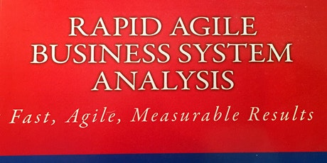 Rapid Agile Business System Analysis tickets