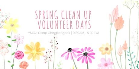 Spring Clean Up - Volunteer Work Days tickets