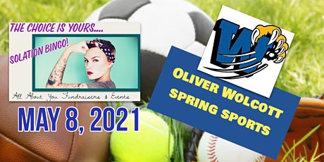 YOUR CHOICE Bingo to Benefit Oliver Wolcott Tech Spring Sports tickets