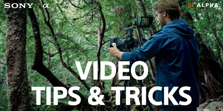 Sony Video Tips & Tricks - Live Online with Samy's Camera tickets