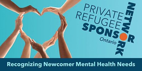 Recognizing Newcomer Mental Health Needs - April 10 & May 8 tickets
