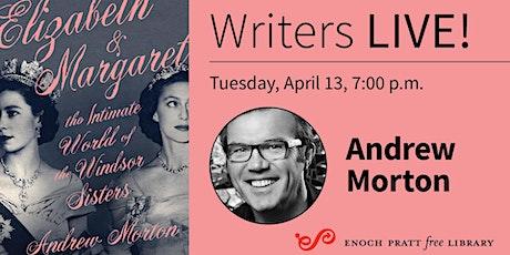 Writers LIVE! Andrew Morton, Elizabeth & Margaret tickets