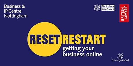 Reset. Restart: Getting Your Business Online Webinar tickets