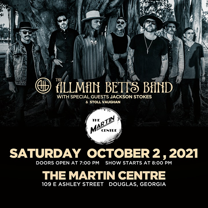 The Allman Betts Band with Special Guest Jackson Stokes & Stoll Vaughan image