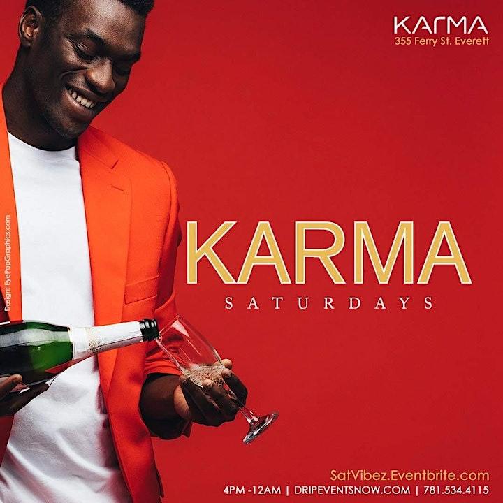 KARMA SATURDAYS | 4pm-12am image