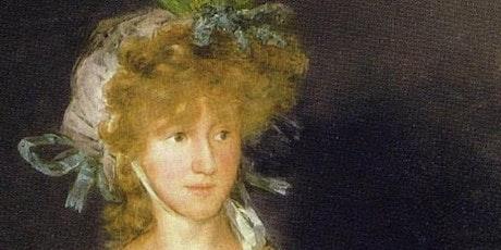 La Condesa de Chinchón y Goya. Cuadros con historias. boletos