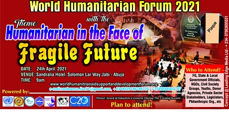 Humanitarian In The Face Of Fragile Future tickets