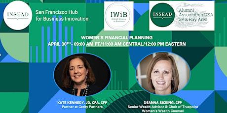 INSEAD Virtual Panel: Women's Financial Planning tickets