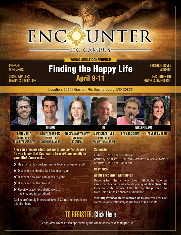 Encounter DC Young Adult Conference image