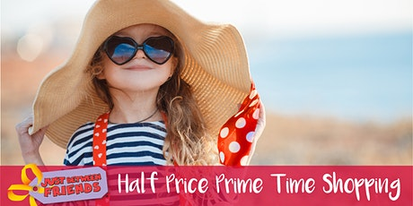 HUGE Children's Sale - 1/2 PRICE PRIME TIME SHOPPING- JBF Cypress SP '21 tickets