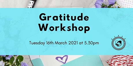 Gratitude Workshop tickets