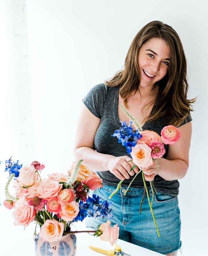 LADYDRINKS MOTHER'S DAY EDITION: VIRTUAL FLOWER ARRANGING WORKSHOP & WINE image