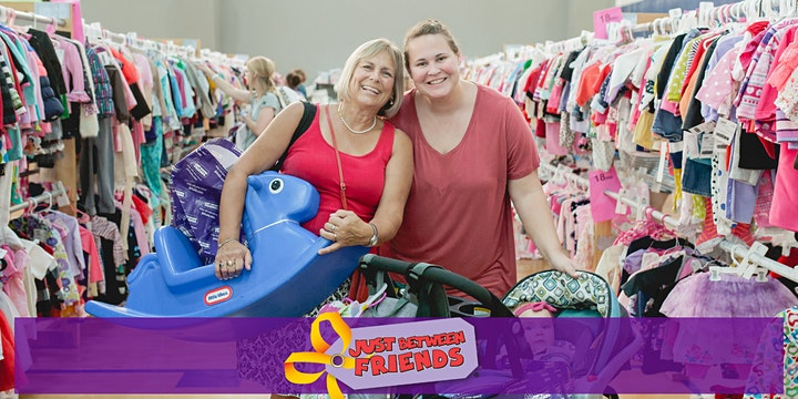Public Shopping & Free Passes -Just Between Friends SNH Kids' Pop-Up Sale image