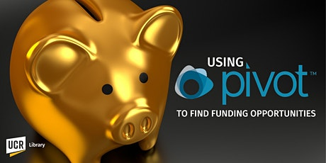 Using Pivot to Find Funding Opportunities tickets