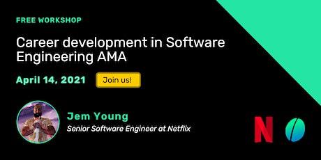 Career development in Software Engineering AMA biglietti
