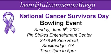 National Cancer Survivors Day  -  Bowling Event tickets