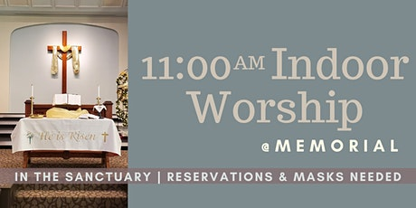 Worship in the Sanctuary at 11:00AM tickets