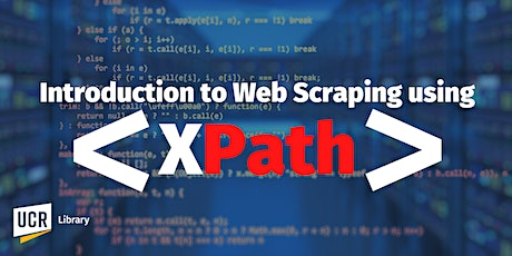 Introduction to Web Scraping using XPath tickets