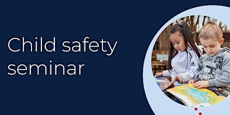 Child safety seminar tickets
