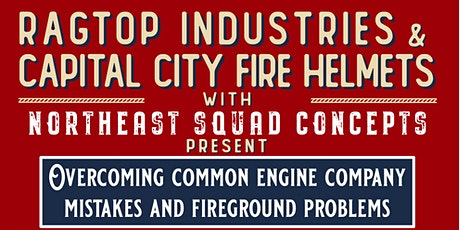 Overcoming Common Engine Company Mistakes and  Fireground Problems tickets