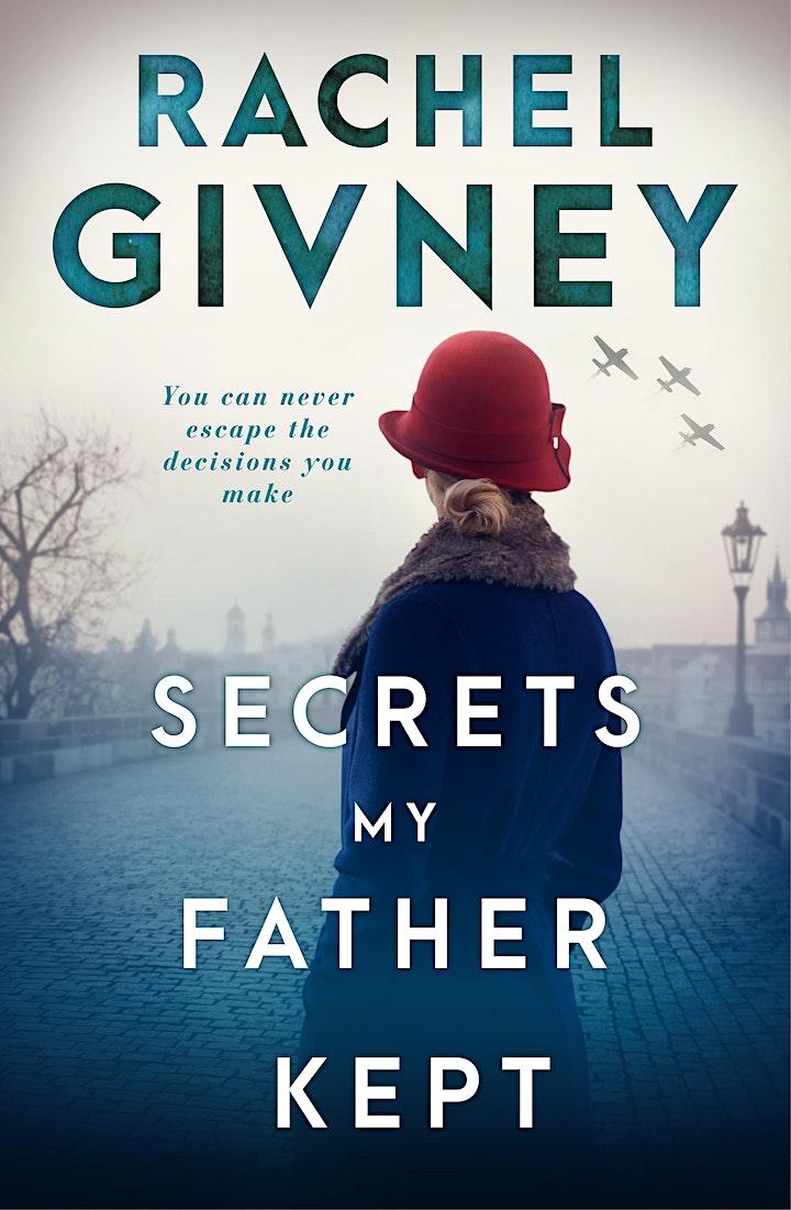 Online Author Talk: 'Secrets my Father Kept' by Rachel Givney image