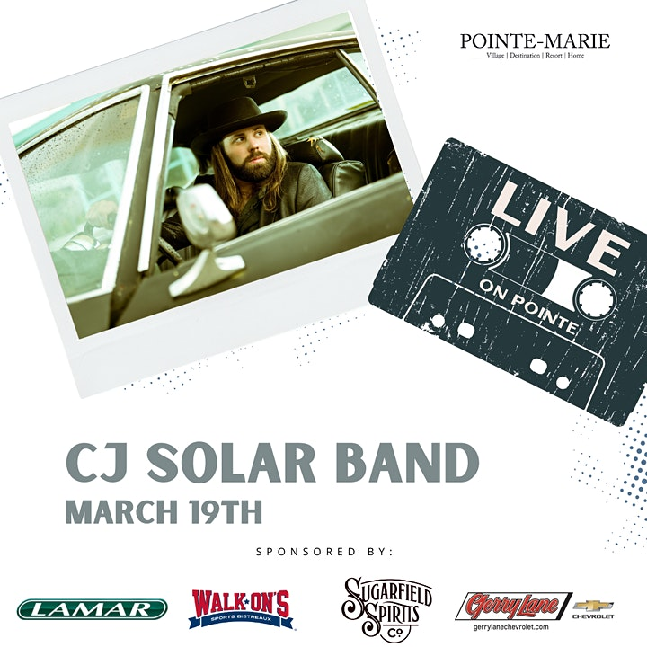 Live on Pointe:  CJ Solar Band image