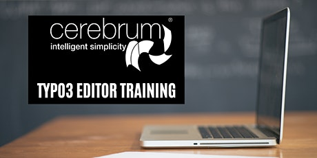 Introduction to TYPO3 Editor Training tickets