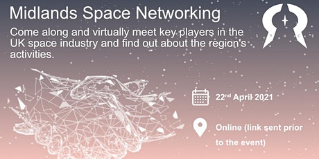 Midlands Space Networking (online) tickets