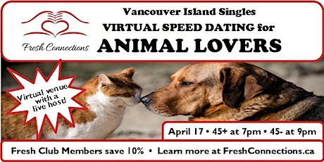 Virtual Speed Dating for Animal Lovers tickets