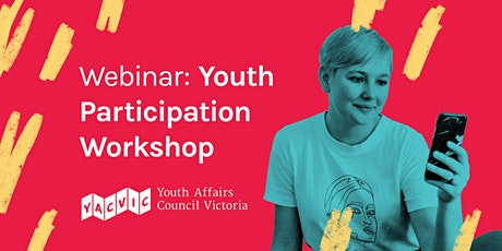 Youth Participation 101 Workshop - Open to Public tickets