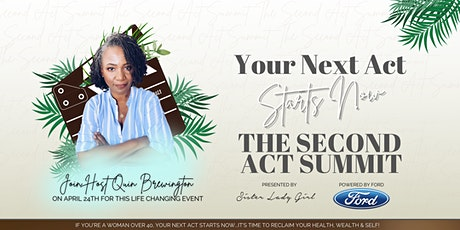 The Second Act Summit bilhetes