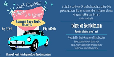 South Kingstown Music at the Movies tickets