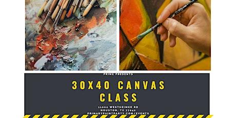 30x40 Canvas Class tickets