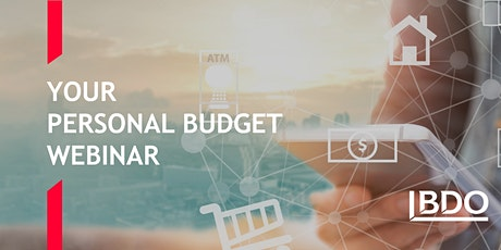 Free Webinar: Your Personal Budget tickets