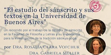 El estudio del sánscrito y sus textos en la Universidad de Buenos Aires entradas