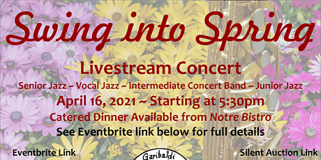 Swing into Spring Dinner & Show tickets