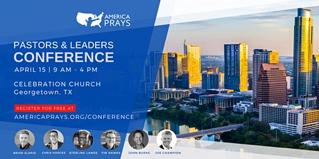 America Prays Pastors &  Leaders Conference tickets