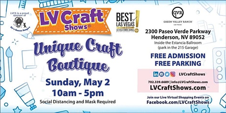 Unique Craft Boutique at GVR tickets