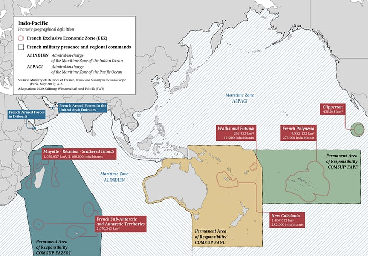 From the French East Indies Company to the French in the 'Indo-Pacific' image