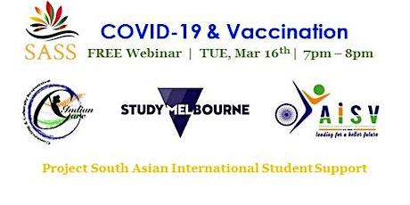 COVID-19 & Vaccination tickets